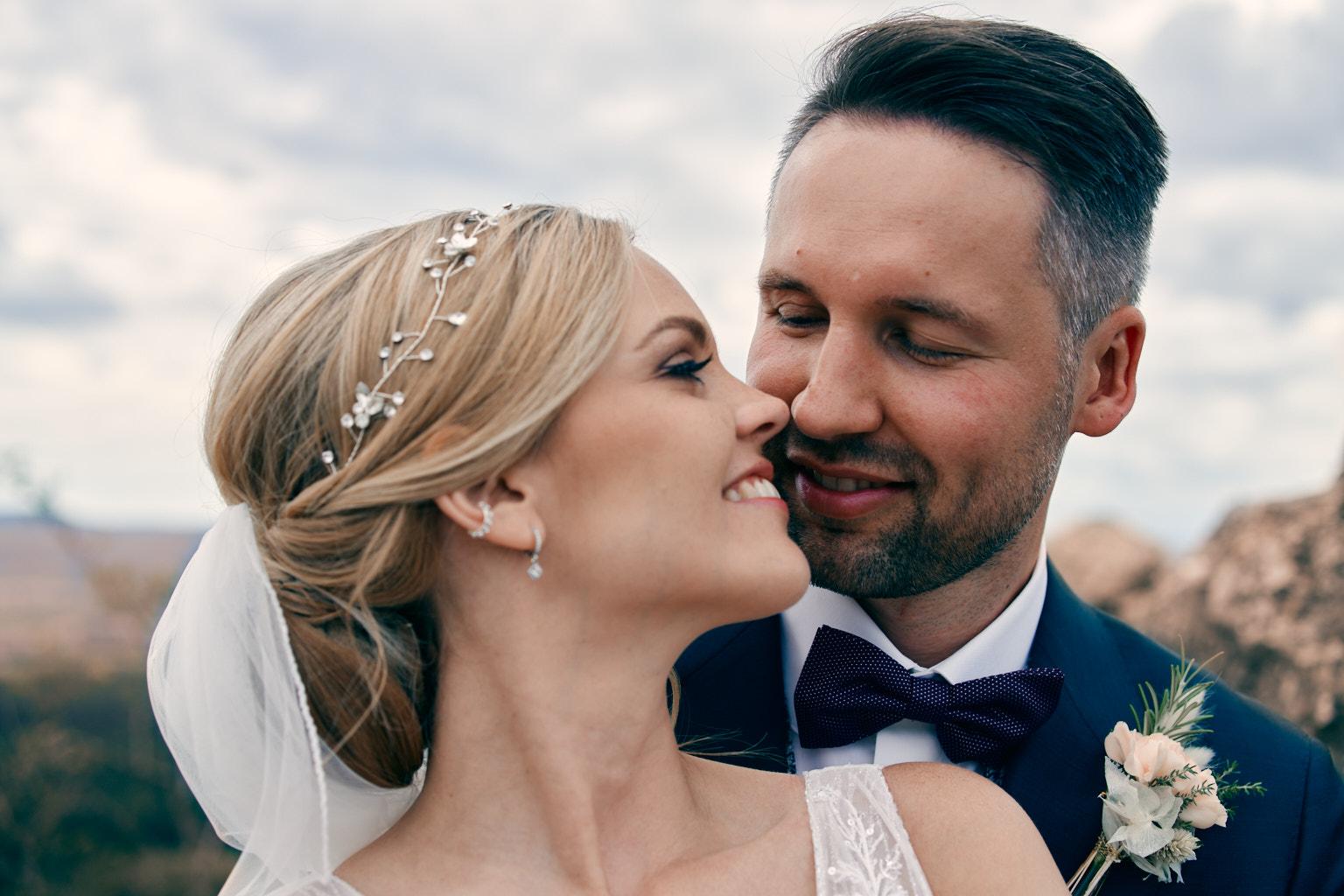 Hochzeit auf Schloss Filseck in Uhingen