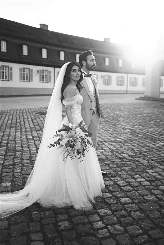 Brautpaar Hochzeit Schloss Solitude
